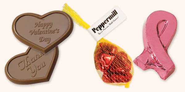 Foiled Chocolate Novelties
