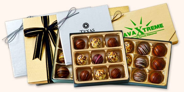Truffle Chocolate Gift Boxes