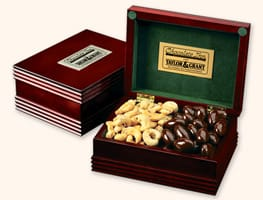 Deluxe Wooden Chocolate Gift Boxes