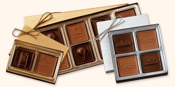 3D Squares Chocolate Gift Boxes