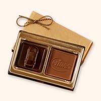 FC2 Small Custom 3D Chocolate Squares Gift Box