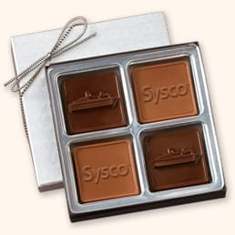FC4 Medium Custom 3D Chocolate Squares Gift Box