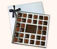 SQ32 Extra Large Custom Chocolate Squares Gift Box