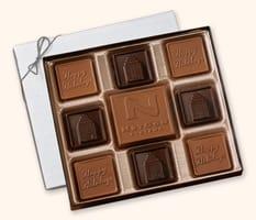 SQ8 Medium Custom Chocolate Squares Gift Box