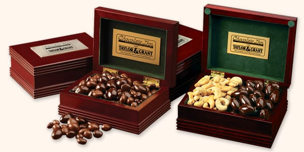 Wooden Chocolate Gift Boxes